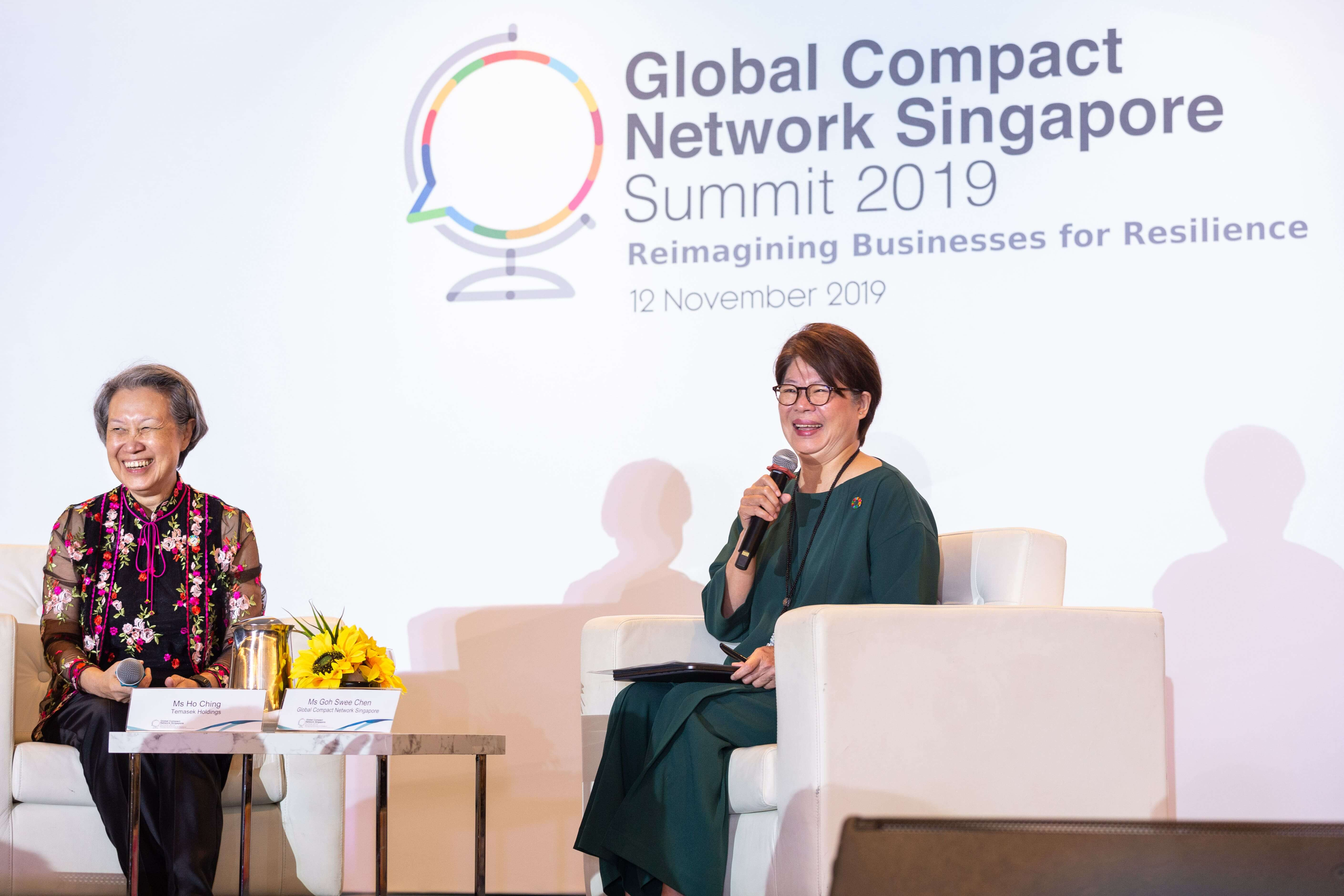 Ms Ho Ching & Ms Goh Swee Chen